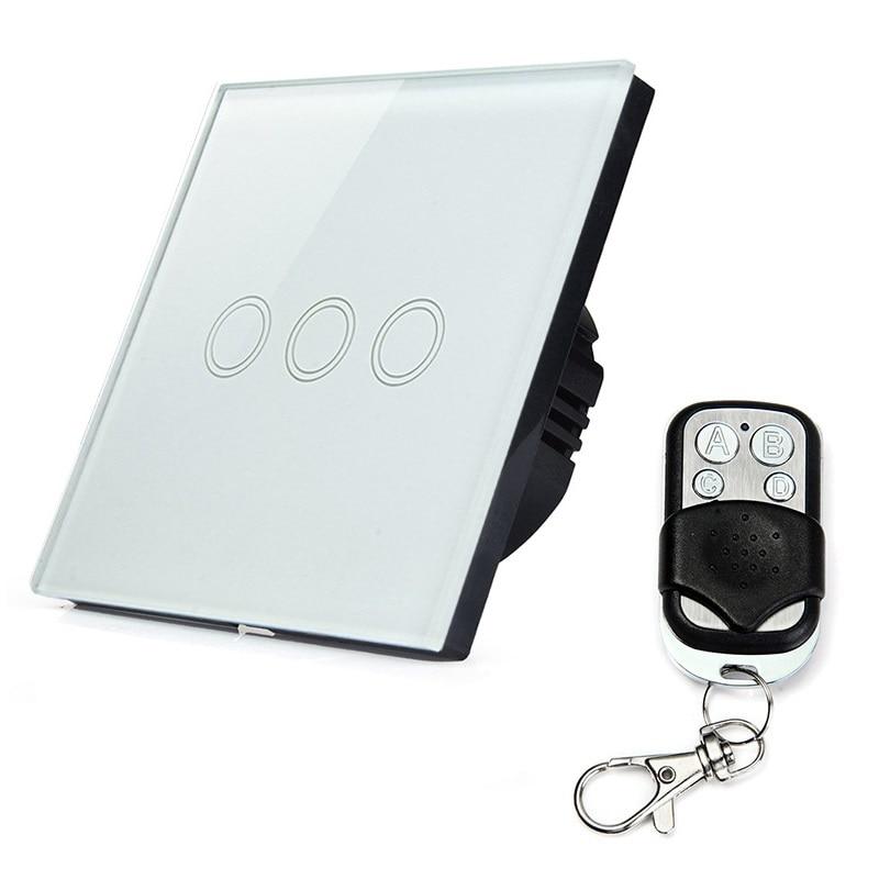 Brand three way smart touch sensitive wall switch light switch ...