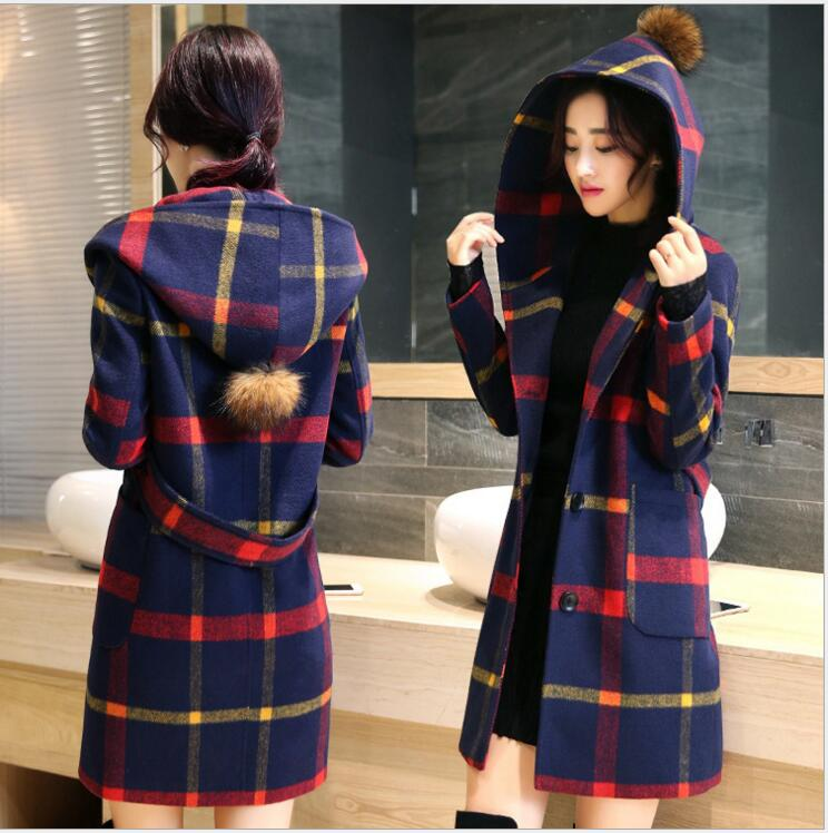 Popular Plaid Coats-Buy Cheap Plaid Coats lots from China Plaid ...