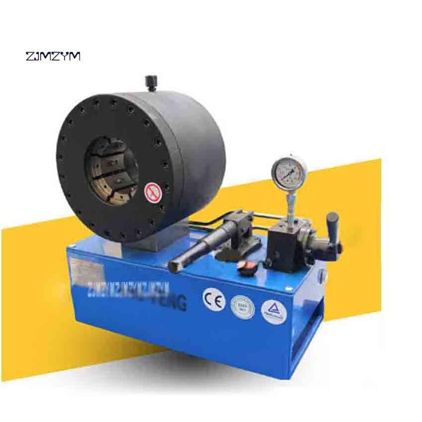 Nouveauté manuel haute qualité tuyau sertissage Machine YJK-51S tuyau industriel sertissage Machine jusqu'à 2