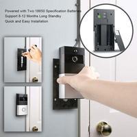 Door Bell WiFi Smart Video Phone Doorbell Wireless PIR Night Vision Doorbell Android IOS Smart Home Intercom System No Dingdong