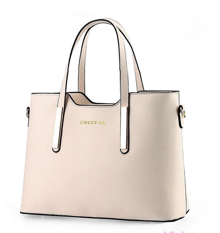 Brand 2016 Women Shoulder Bags PU Leather Casual Women Handbags Fashion Ladies Tote Designer Female Handbags Women Bag
