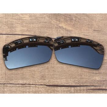 ba2f53c78c Vonxyz espejo negro polarizadas lentes para-Oakley Gascan marco - a ...