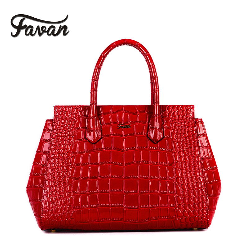Genuine leather handbags women crocodile pattern bag large capacity handbag messenger bags real leather purse dikizfly soft genuine leather women handbags casual totes bag real leather brand work handbag purse elegant messenger bags bolsa