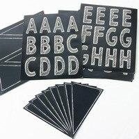 Versatile di DIY Lavagna Banner Banner Personalizzato Lettere e Numeri e Simboli Collage Fogli di Cerimonia Nuziale/Compleanno/Doccia/Aula Banner