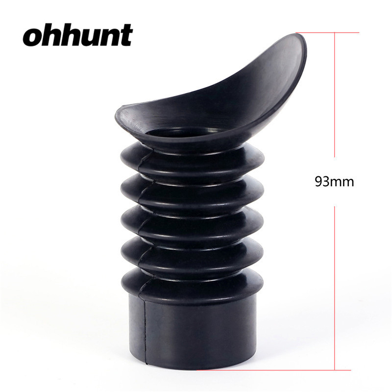ohhunt Rubber Eye Protector 33-35mm inner Diameter Rifle Scope Recoil Eye Protector Hunting Rifle Sight Protect Eyes Eyeshade(China)