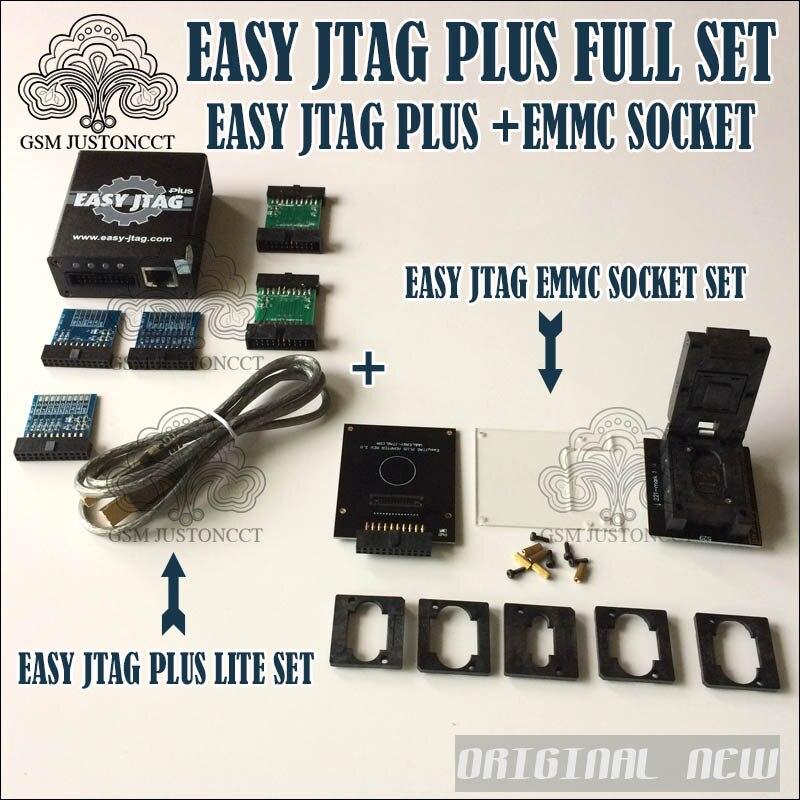 Nueva versión juego completo fácil Jtag caja más fácil Jtag más caja EMMC socket para HTC/Huawei /LG/Motorola/Samsung/SONY/ZTE