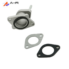 Carburetor-Intake-Interface-Manifold-Pipe CG125 157FMI Honda Rubber for Cg125/Gy/156fmi/..