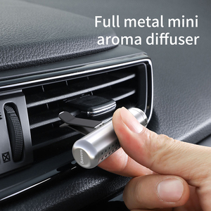 Image 3 - Baseus Car Air Freshener Perfume Clip Auto outlet Fragrance Smell Diffuser Air Condition Solid Perfume In The Car Accessories