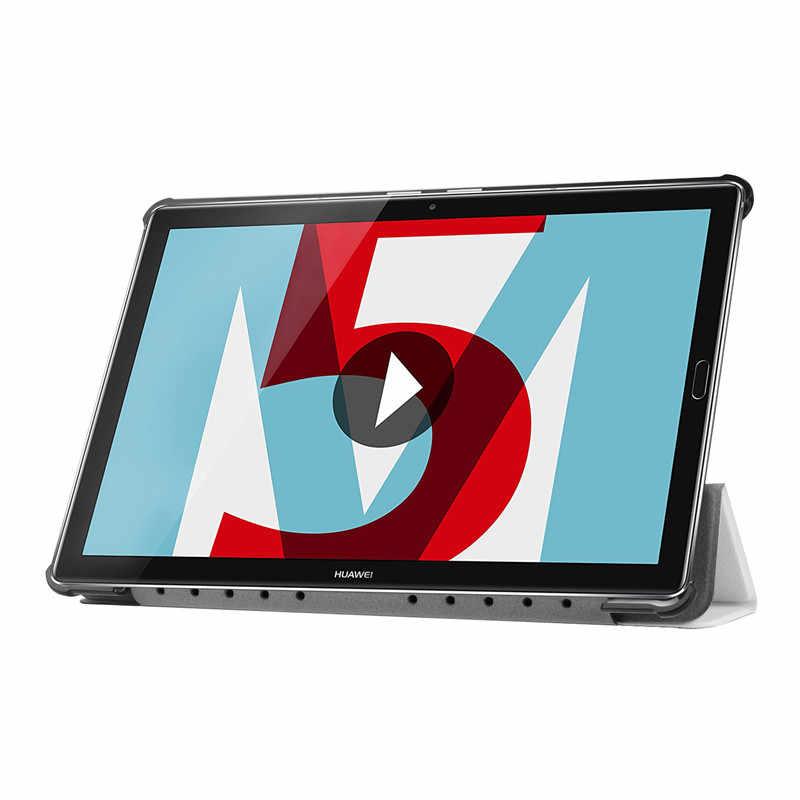"""עור מפוצל מקרה כיסוי עבור Huawei Mediapad M5 10 pro tablet Pc מגן מקרה עבור Huawei Mediapad M5 10.8 """"CRM-AL09 CRM-W09"""