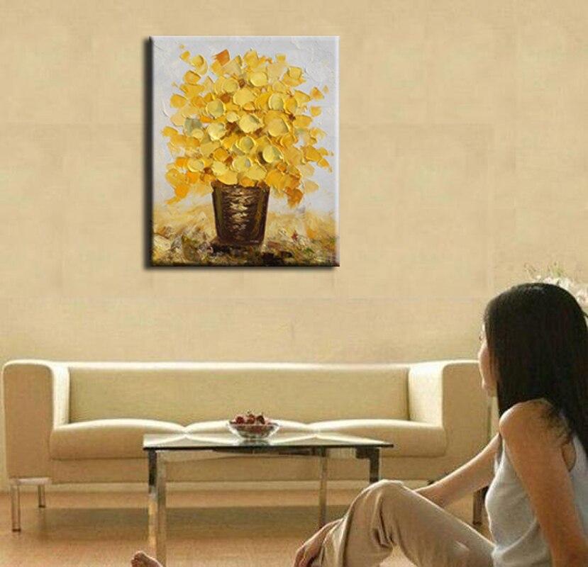 100% ручной росписью маслом украшения дома высокого качества цветок картины DM16052103