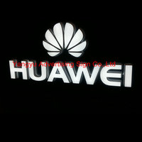 Custom outdoor mobile phone shop name sign 3D lighted letters