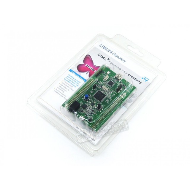 STM32F4DISCOVERY STM32F4 Discovery Kit 32-bit ARM Cortex-M4F core 1 MB Flash 192 KB RAM for STM32 F4 series - with STM32F407 MCU
