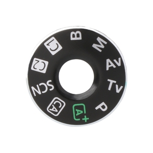 Image 1 - Camera Function Dial Mode Interface Cap Button Repair Parts For Canon EOS 6D New
