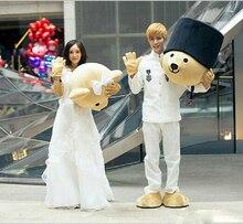 Characteristics of the wedding Wedding teddy bear cute bear