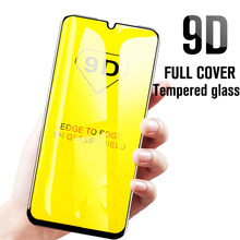 9D Full Cover Tempered Glass for Huawei Y6 Y7 Y9 2019 Y5 Y7 Prime 2018 Screen Protector for Mate 9 10 Lite Pro 6X 8A Max(China)