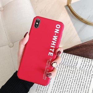 Image 3 - KISSCASE Letter Phone Case For Xiaomi Redmi Note 7 6 5 Pro Pocophone F1 Mi8 Mi A2 Lite 6X 5X A1 Mi9 SE Hard PC Back Cover