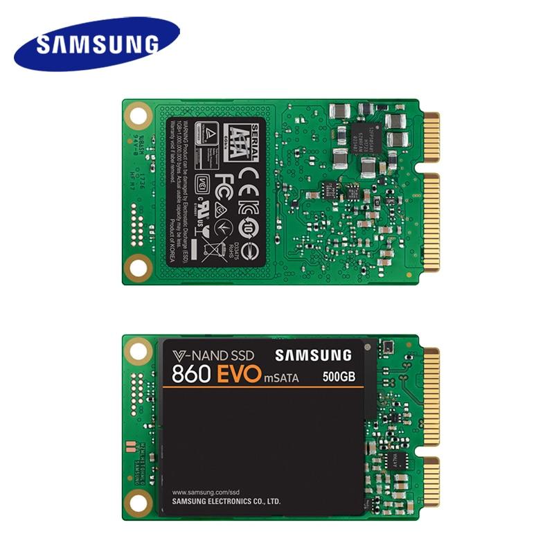 Samsung Internal SSD 860 EVO mSATA 250GB 500GB 1TB Solid State Drive HDD Hard High Speed for Laptop PC Computer Desktop 2
