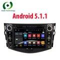 2 din Автомобильный DVD GPS мультимедиа Android 5.1 2Din Для Toyota Rav4 RAV 4 с 1024*600 Емкостный Сенсорный Экран Flash Fm-радио RDS BT
