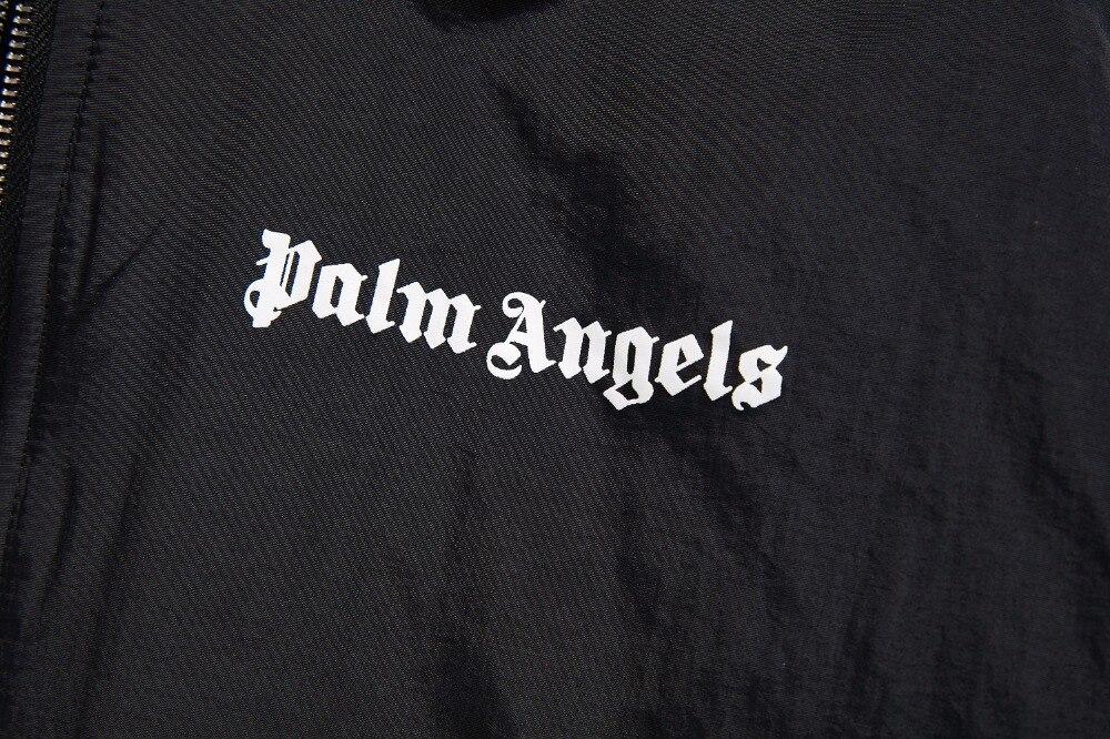 Veste Épaule Femmes Lettre Survêtement Hommes Anges Chauves souris Oversize Automne Palm Coton S Hiver Manteau New Poche 18ss xl Zippée tpvwanWTq