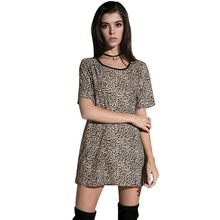 Buy leopard print shirt dress and get free shipping on AliExpress.com 0eb62c93c