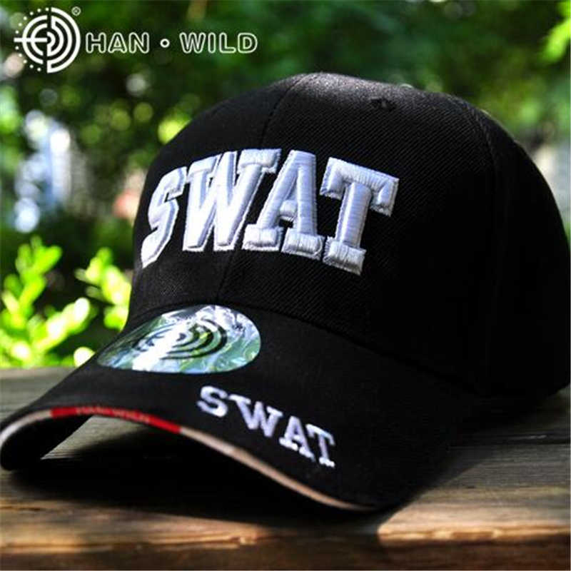 SWAT Embroidery Army Cap For Men and Women Unisex Policemen Caps Outdoor  Sport Snapback Caps Simplicity 670baa707e55