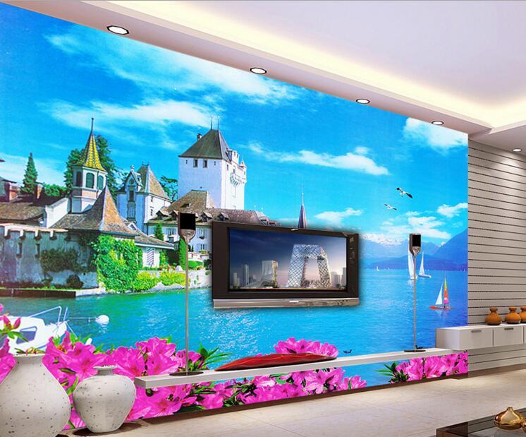 Custom 3d Photo Wallpaper 3d Wall Murals Wallpaper Hd: 3d Room Wallpaper Custom Mural Non Woven Wall Sticker Hd