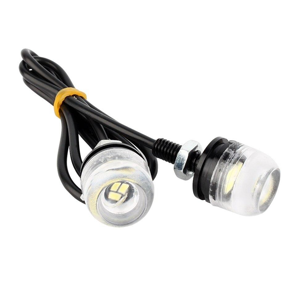 2PCS 12V White LED 100% Brand new License Plate Screw Bolt Light Lamp FOR Car Motorcycle smaart v 7 new license