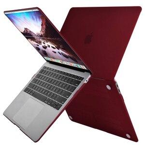Image 2 - MOSISO 新 Macbook Pro の空気網膜 13 15 ケース 2018 とバー & キーボードカバークリスタルマットハード macbook A1932