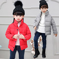 Kids Winter Cotton Padded Coat Children Thick Warm Cotton Padded Jacket Padded  Baby Girls Boys Winter Wear V-0272