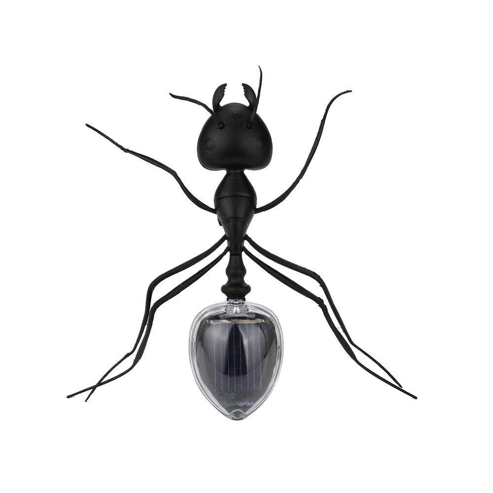 1PC Ant Spider Power Robot Toy Bug Solar Energy Powered Toy Mini Kit Novelty Kid Gadget Toy For Children A521