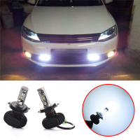 2Pcs Super Bright H4 H7 H8 H11 50W LED Car Headlight Auto Fog Lamp Daytime Running