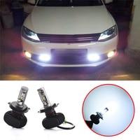 2Pcs Super Bright H4 H7 H8 H11 50W LED Car Headlight Auto Fog Lamp Daytime Running