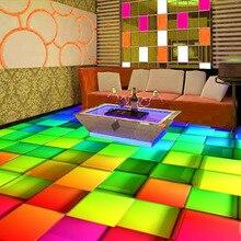 3d pvc flooring custom photo self adhesion waterproof wallpaper Dazzle