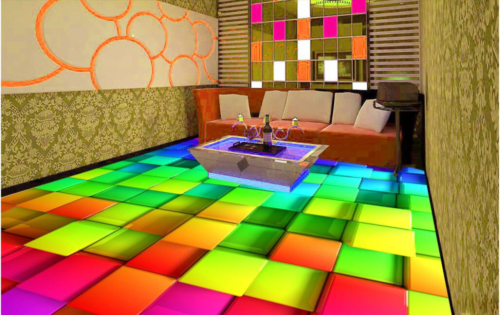pvc boden bunt sc31 hitoiro. Black Bedroom Furniture Sets. Home Design Ideas