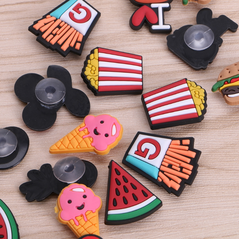Mix Models 8pcs/Lot Shoe Clip Decoration Accessories Kids Gifts New Fashion Cute