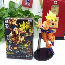 Free Shipping Seven Dragon Ball Japanese Animation Battle Damage Model Version of The Sun Wukong Model Gotenks Action Figure