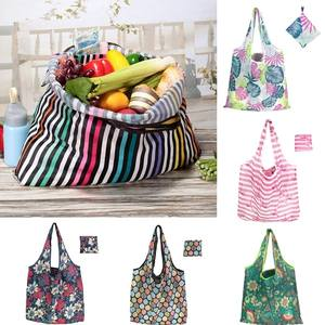 Handbags Tote-Pouch Storage Travel-Bag Recycle Floral Foldable Waterproof Unisex 1PC