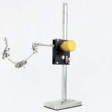 Livraison DHL gratuite WR 300 système de support de caractère darmature de plate forme denroulement linéaire pour lanimation de mouvement darrêt
