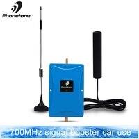 4 г lte усилитель LTE 700 МГц полоса 28 Мини сотовый усилитель сигнала усиления 45дБ повторитель с Omni направленные для антенны Набор для использова