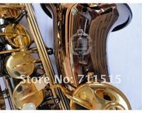 SUZUKI Brass Sax High Quality Alto Saxophone Professional Saxophone Surface Electroplating Black Nickel Gold Plated