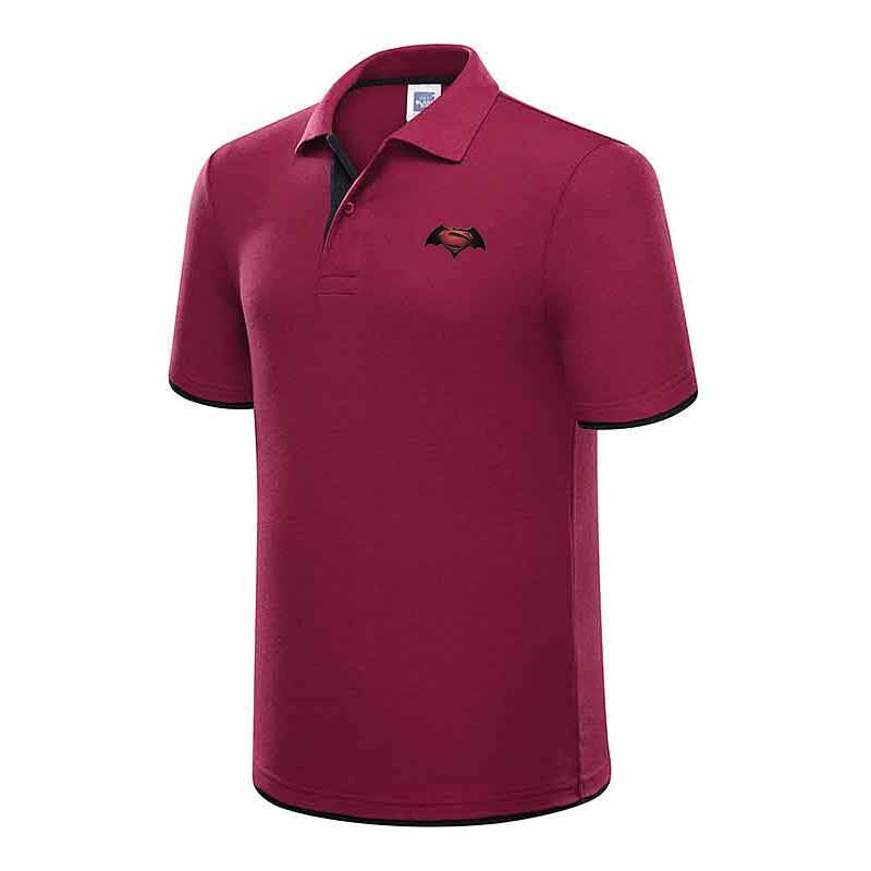 Men's summer   Polo   shirts 2019 men's short sleeve cotton   Polo   printed short sleeve men's solid knit breathable topT-shirt