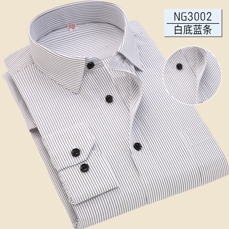 Image 4 - 2019 Casual Long Sleeved Solid Slim Fit Male Social Business Dress Shirt shirt men camisa masculina  mens dress shirts shirt men-in Dress Shirts from Men's Clothing