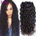 Перуанский Девственные Волосы вода волна 4 пучок недорогие Перуанский Пучки волос Норки Волна Воды Девственные Волосы Вьющиеся Переплетения Человеческих волос