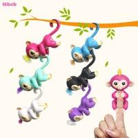 Authentieke Vinger Aap Interactieve Baby Apen Kleurrijke Smart Speelgoed Vinger Apen Smart Inductie Speelgoed Voor Kinderen Kerstcadeaus