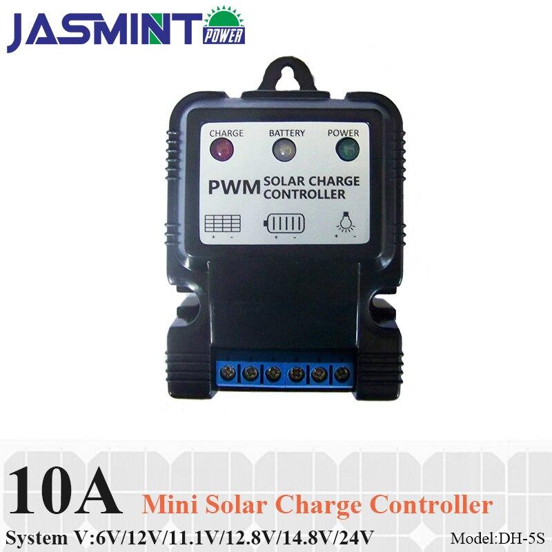 12V ou 12V 6V 24V Panneau solaire Régulateur de batterie Contrôleur de