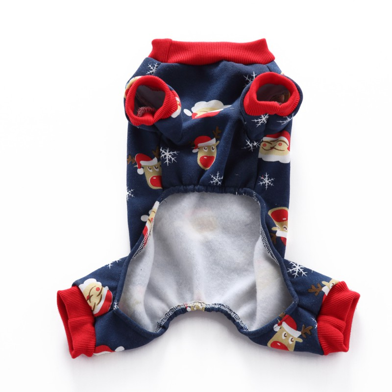 Dog Clothing & Shoes Pet Dog Clothes Christmas Coat Four Leg Fleece Coat Jackets For Chihuahua Yorkshire Dog Jumpsuits Rompers Coats Pet Products