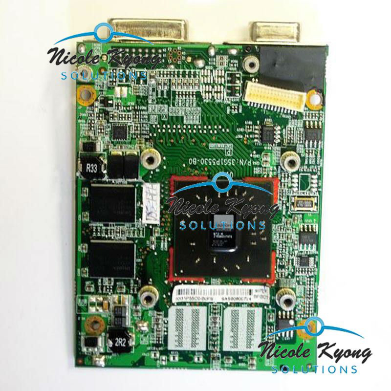 P55IMX 35G1P5530-B0 HD2400 M72 256M DDR2 Graphics Video Card for Xi2550 Xi2528 Xi2428 PI2540 PI2530 PI2550 cant replace 8600M