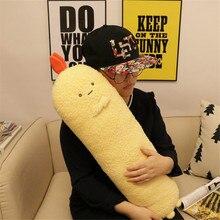 Fancytrader Japen Anime Yellow Shrimp Pillow Toy Soft Pop Cute Anime Long Plush Doll 70cm