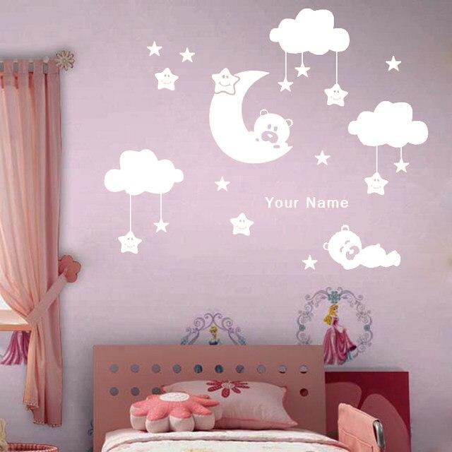 Tienda Online W238 luna y estrella vinilo pegatinas de pared para ...
