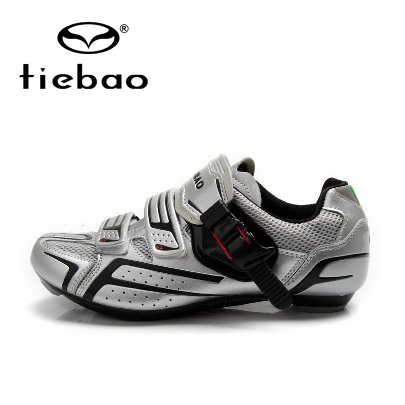 Tiebao Cycling Shoes For Men Women Road Bike Shoes Self-Locking Sport Shoes Breathable Bicycle Shoes Zapatillas Zapato Ciclismo sidebike mens road cycling shoes breathable road bicycle bike shoes black green 4 color self locking zapatillas ciclismo 2016